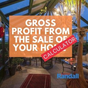 Gross Profit Calculator from the sale of your home