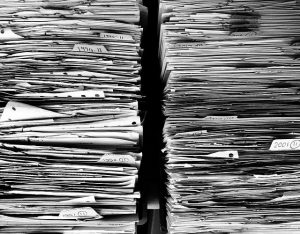 Paperwork for moving