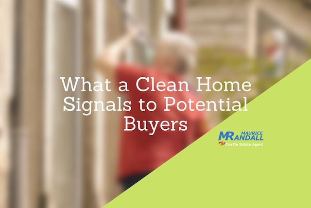 What a Clean Home Signals to Buyers, Maurice Randall