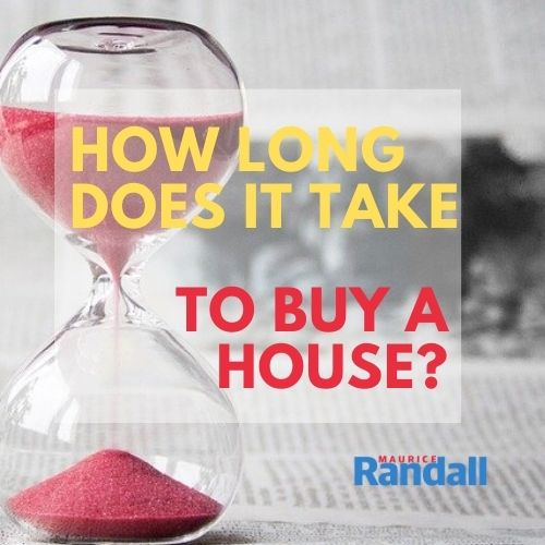 How long does it take to buy a house?, Maurice Randall, Estate Agent